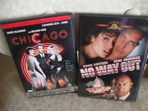 2 DVD's - CHICAGO AND NO WAY OUT - Edmonton Edmonton Area image 1