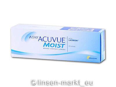 1 Day Acuvue Moist moderne Premium Tageslinsen 1x30 NeuOVP