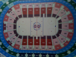 6 X MONTREAL CANADIENS REDS ROW A