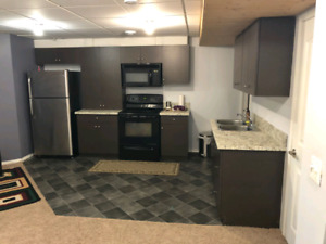 Recently build basement suite for rent