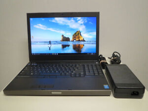 15 15.6 Dell Gaming laptop i7 8GB 480GB SSD 1080p NVIDIA 3D