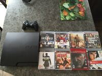 PS3 + Games + Controller