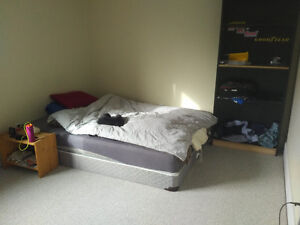 1 Bedroom Sublet Available now, near Queen's U