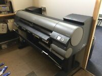 "Canon ipf 8400 44"" large format printer"