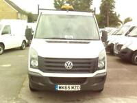 Volkswagen Crafter CR35 MWB Tipper TDI 109PS DIESEL MANUAL WHITE (2015)