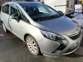 LOW MILEAGE VAUXHALL ZAFIRA TOURER C