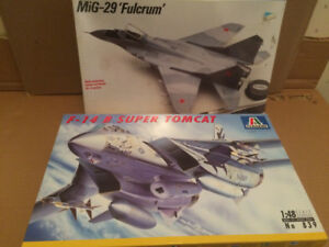 Plastic model kits – aircraft & military