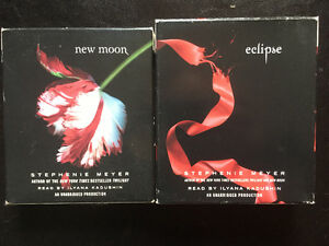 New Moon & Eclipse by Stephenie Meyer Audio Books