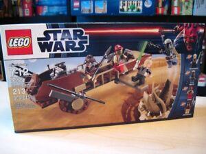 Lego set 9496 Star Wars Desert Skiff, boite neuve et scellée