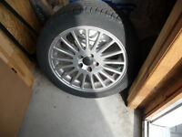 Volvo Original Mags with Michelin tires 235/45 R17