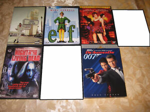 VARIOUS MOVIES ON DVD and Blu-Ray