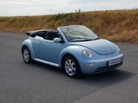 2005 Volkswagen Beetle Convertible with the 2.0 litre engine and leather heated