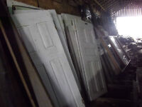 ANTIQUE DOORS, MANY TO CHOOSE FROM.