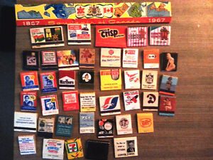 """""""RARE"""" COLLECTION OF 1,480 MATCHBOOKS 1930's to 80's"""