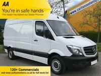 2014/14 Mercedes Sprinter 313CDI 130 MWB HIGH ROOF VAN RWD LOW MILEAGE