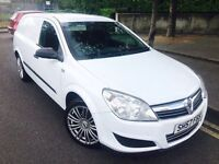 57 PLATE VAUXHALL ASTRAVAN 1.3 CDTI 17 INCH FOX RACING ALLOYS