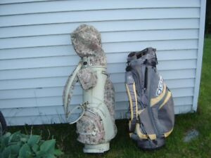 HIS & HERS GOLF BAGS