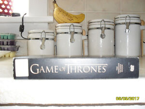 Complete Game of Thrones second season on dvd