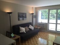 Sub-lease -3½ - downTown- Aug 1st or Sep 1st - Mcgill Univ- $900