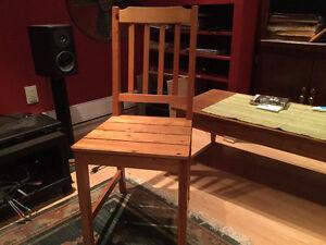 4 chaises IKEA - doit vendre