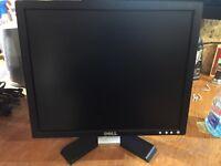 "Dell 17"" flat panel monitor."
