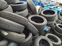Part Worn/Used Tyres For Sale