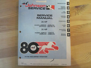 Johnson Outboard service manual 1980