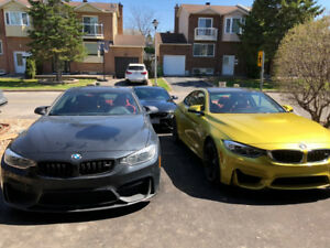 Low mileage one owner 2016 Austin Yellow BMW M4, Fully loaded