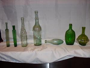 Antique bottle collection