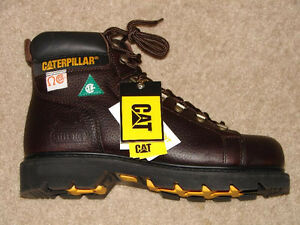Brand New Men Caterpillar Safety Steel Toes Boots For Sale
