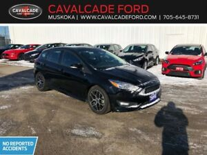 2016 Ford Focus Hatchback SE with sport appearance & winter pkg!
