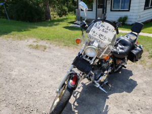 1986 Yamaha Virago Xv1100 Custom exhaust..Single Carb Conversion