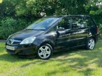 2009 Vauxhall Zafira EXCLUSIV MPV Petrol Manual