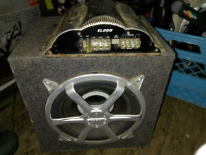 Bazooka 450watt sub and 300watt amp 200 obo