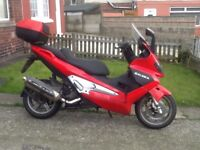 Scooter or moped 50cc to 125cc wanted cash waiting