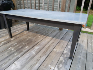 Awesome heavy metal top Coffee Table $80