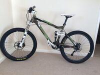 Trek fuel ex eight full suspension mountain bike