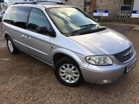 2003 '03' Chrysler Voyager 2.5 CRD LX. Diesel. Manual. Family 7 Seater. Px Swap