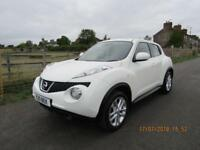Nissan Juke 1.6 DIG-T Acenta Sport, ONLY 55K WITH FSH & 2 OWNERS, LONG MOT