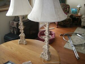 Pair Large Table Lamps