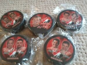 MCDONALDS COLLECTIBLE HOCKEY PUCKS