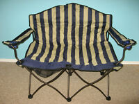Lawn chair - double, folding