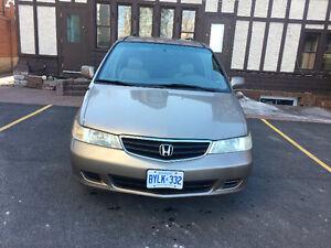 2004 Honda Odyssey EX-L Minivan, Van 165.000km