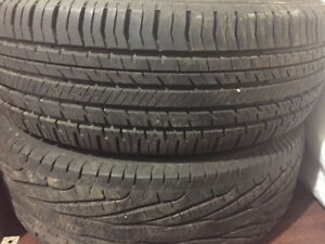 Four M&S tires for sale in great shape - Good Year and Nokian