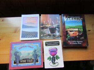 WINE LOVERS BOOKS - LOT OF 7
