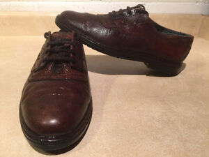 Men's Broke Land by Afis Leather Dress Shoes Size 7.5-8 London Ontario image 1