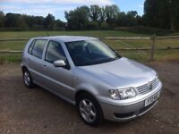 2001 Volkswagen Polo 1.4 Match - 5 Door - Low Miles /Full Service History/New MOT