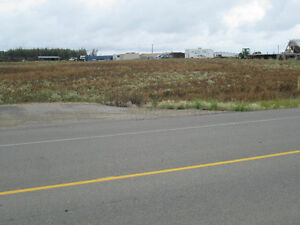 five acres of commercial land south of g.p. airport.