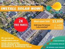 MEGA SOLAR SALE- EOFY - 5KW SOLAR PV SYSTEM - TIER 1 RISEN PANELS Perth Region Preview
