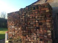 "Reclaimed Cheshire Bricks 3"" cleaned"